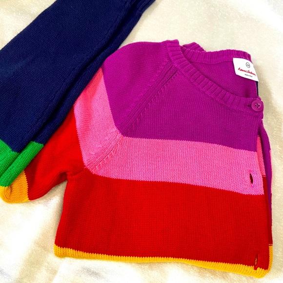 Hanna Andersson Rainbow Sweater